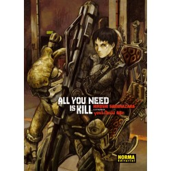 All you need is kill. Novela