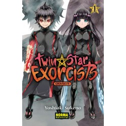 Twin Star Exorcists 01