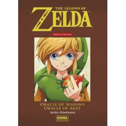 The Legend Of Zelda Perfect Edition 03: Oracle of seasons y Oracle of ages